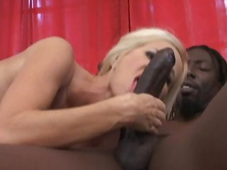 White girl tabitha fucks a big black dick