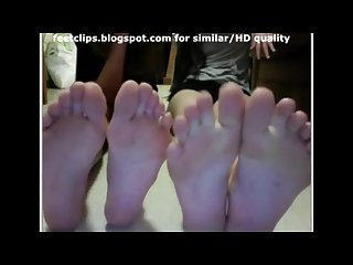 Chatroulette webcam girls feet 8