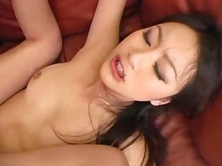 Solid cock jammed hard into the tight evelyn lin