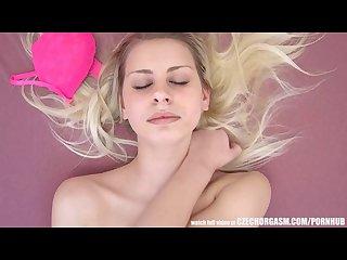 Czech orgasm genuine female masturbation
