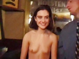 Brunette with furry pussy auditions for porn err movie