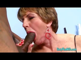 Two dicks one granny milf bitch