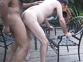 Gbm fucks mature white guy raw on patio gbmfksdhv01smll
