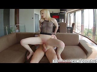 Allinternal gothic girl given an internal creampie to remember