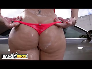 Bangbros big ass mlf pornstar sara jay takes a big black cock