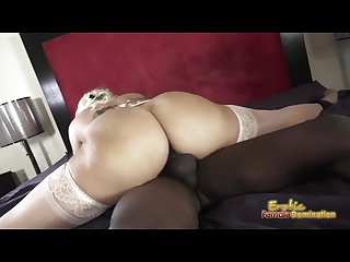 Alaura jenson loves big black cocks