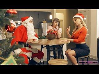 Stepmom cherie deville and teen alex blake fuck santa claus s9 e7