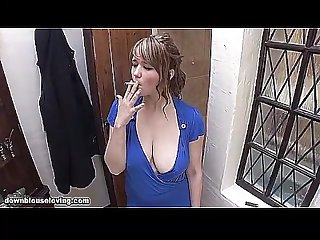 Big tits smoking fetish Mix wow