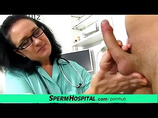 Big natural boobs lady in uniform danielle a skinny boy handjob