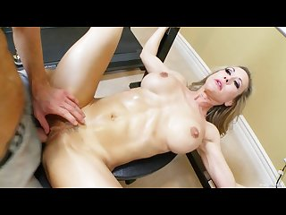 Fit milf brandi love works out with cock