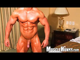 Handsome Twink bodybuilder jock