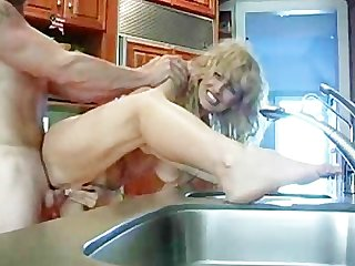 Hot blonde wife getting fucked