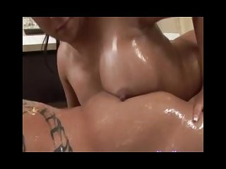 Masseuse offers anal sex during a nuru massage