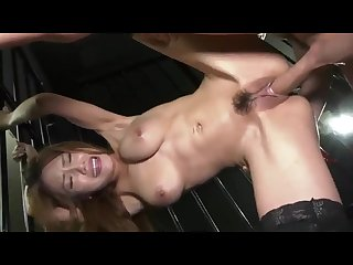 Japanese slut gets fucked in the prison