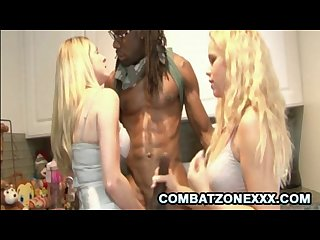 Angela attison and britney young busty blondes and the big black dong