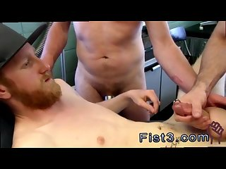 Black fist fucking gay men First Time Saline Injection for Caleb