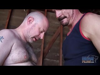 Old gay fucks Muscle dude