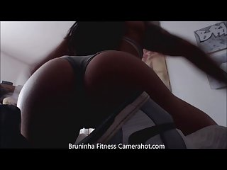 Brazilian big butt Twerking twerkingbuttgirl hot big booty shaking 2