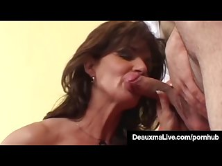 Horny Housewife Deauxma Gets Pounded Anally & Gets Cummed On