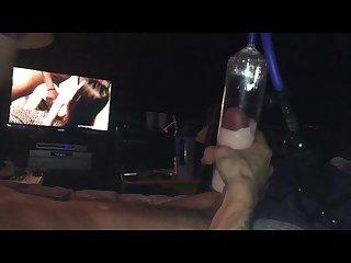 Cockpump cumshot
