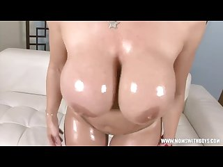 Oiled Sara Jay Fucking Black Dick