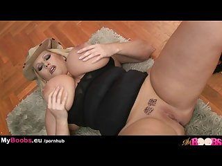 Myboobs eu huge tits Laura M masturbates in soldier uniform