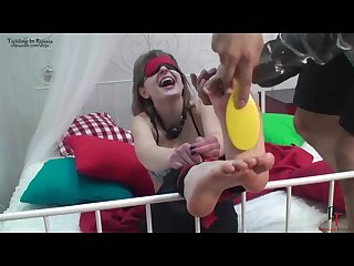 Nasty girl agony of Tickling part i full