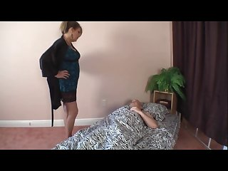 Stepmom and son Affair Goodnight fuck