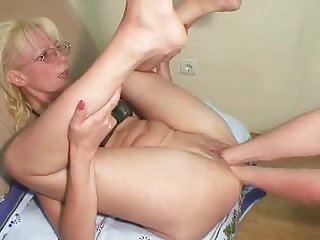 Blonde milf loves anal and fisting bvr