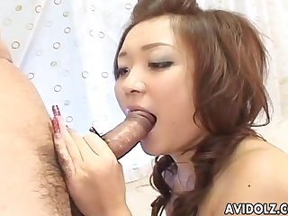 Stunning japanese babe haruka kaede is drilled uncensored