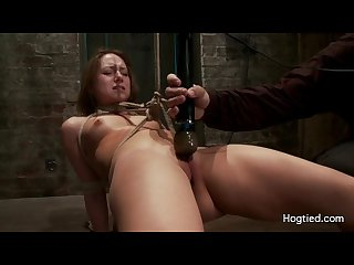 remy la croix gets tied up and sucks dick HD