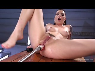 Rachael madori fucking machines