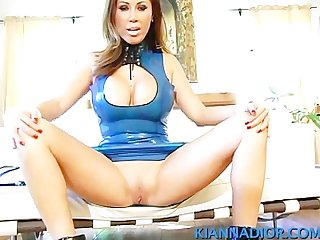 Kianna dior blue latex