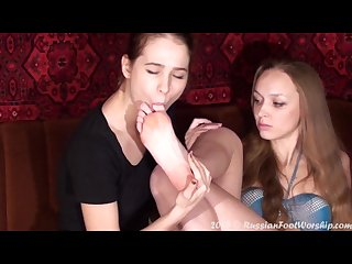 You like my feet now worship pt 1 russian foot worship