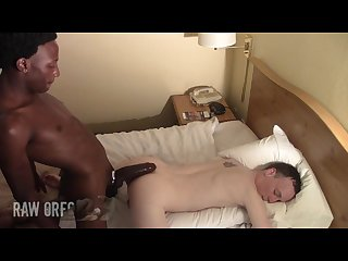 Raworeo presents the biggest cock in gay porn blacked out