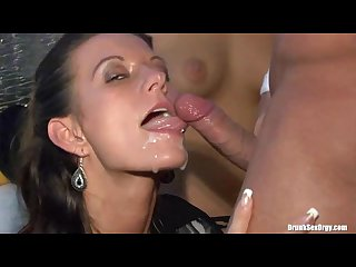 Public party cumshot compilation part 2 girls get on partys white faces