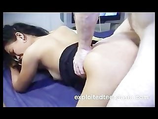 Debbie filipino amateur student screams with every thrust