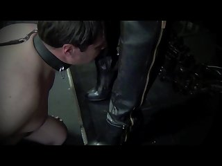 Asian leather mistress