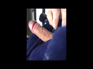 Public bus handjob to ebony