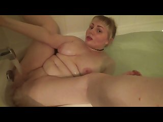 Daddy caught me masturbating in the bath made me dirty again