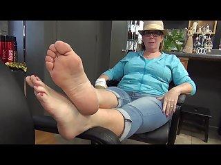 Ny Mature feet