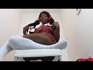 Sexy black ebony teacher goddess desire foot sniffing instruction