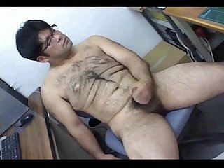 Japanese hairy boy