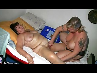 Two fat matures old mature and nurse mature
