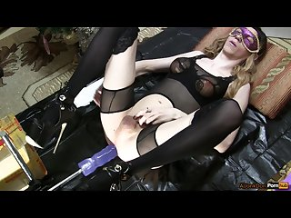 Christmas fuck 4 fucking machines fucks sissy under the christmas tree