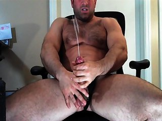 Big spurt from college hunk