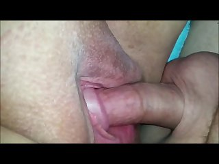 Bbw having fun with his cock and her hitachi
