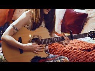 Guitar girl porn music video