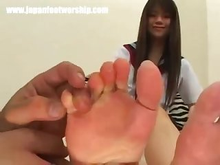Japanese foot sniffing