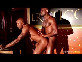 NextDoorEbony Muscular Strippers Fuck on Stage